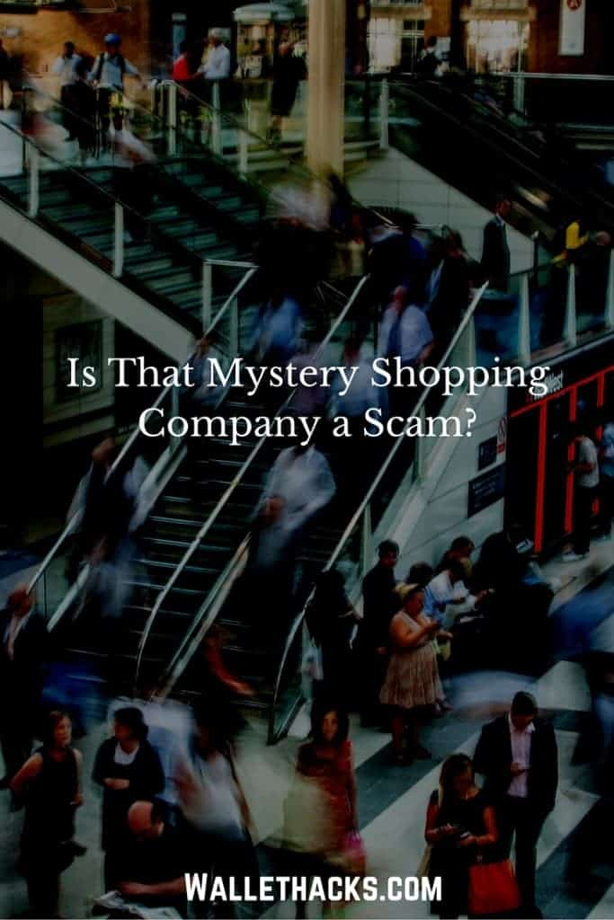 Is that mystery shopping company a scam?