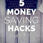 5 Money Saving Hacks, Backed by Science