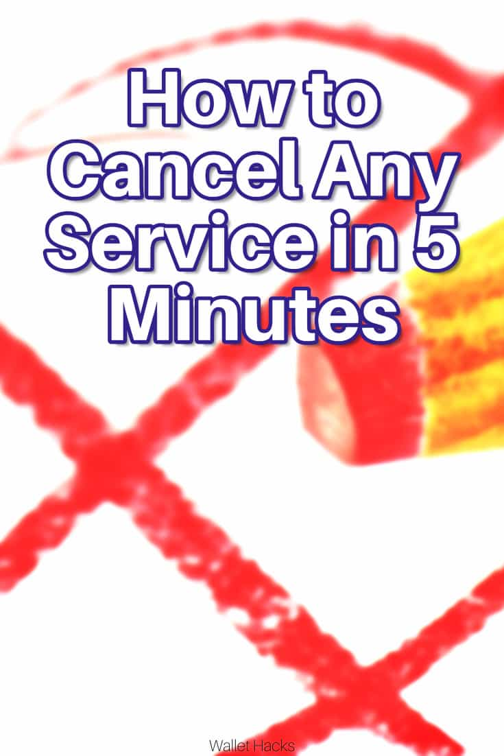 Siriusxm Cancel Subscription >> How To Cancel Any Service In 5 Minutes