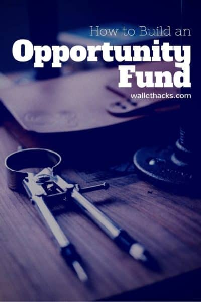 How to Build an Opportunity Fund