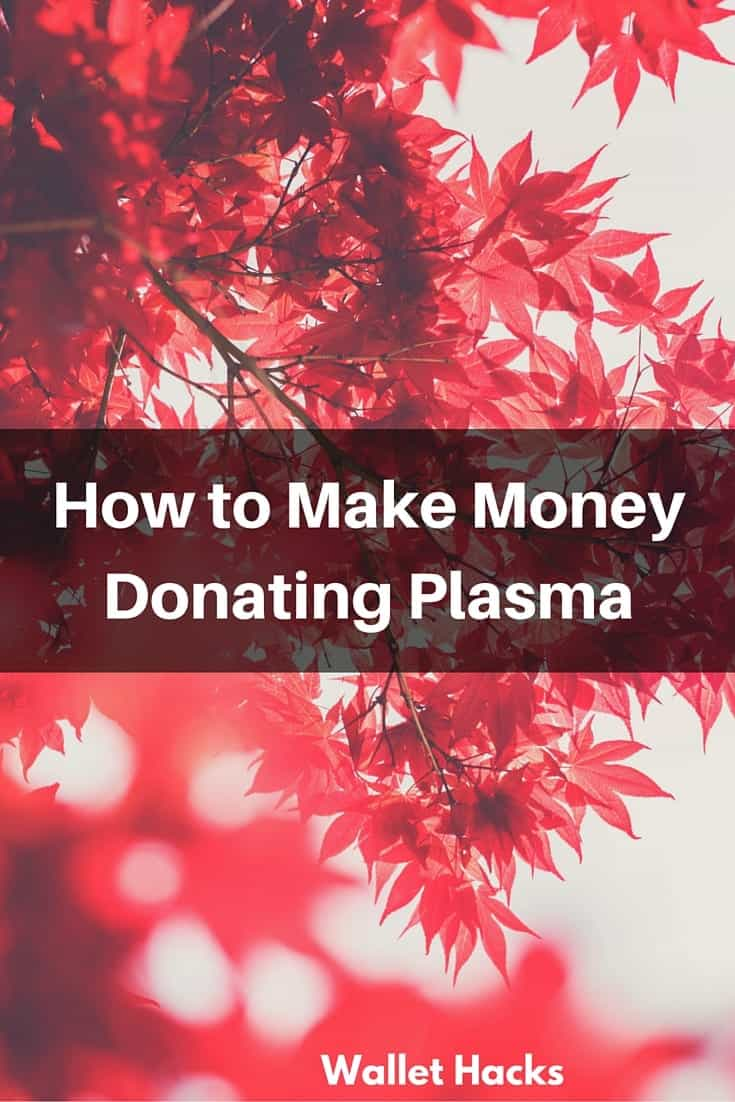 Ways to earn money like donating plasma