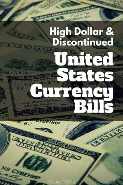 I love the history around old currency and the United States, despite having some of the most boring looking currency, has some fantastic big discontinued bills worth checking out. Ever see a $100,000 bill???