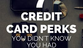 Credit cards are constantly competing for business and many offer similar, extremely valuable perks like extended warranty, purchase protection, and a whole litany of travel protections (lost luggage too!). Check out this full list and take advantage of these perks you're already paying for!