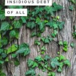 The most insidious debt of all