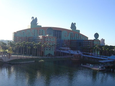 Walt Disney World Swan Hotel -- Source: Public Domain