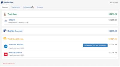 debitize-beta-dashboard