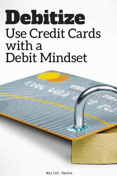 Debitize is a service that acts as your credit card guardian angel, making it so you don't fall into the trap of runaway credit card spending of money you don't have!