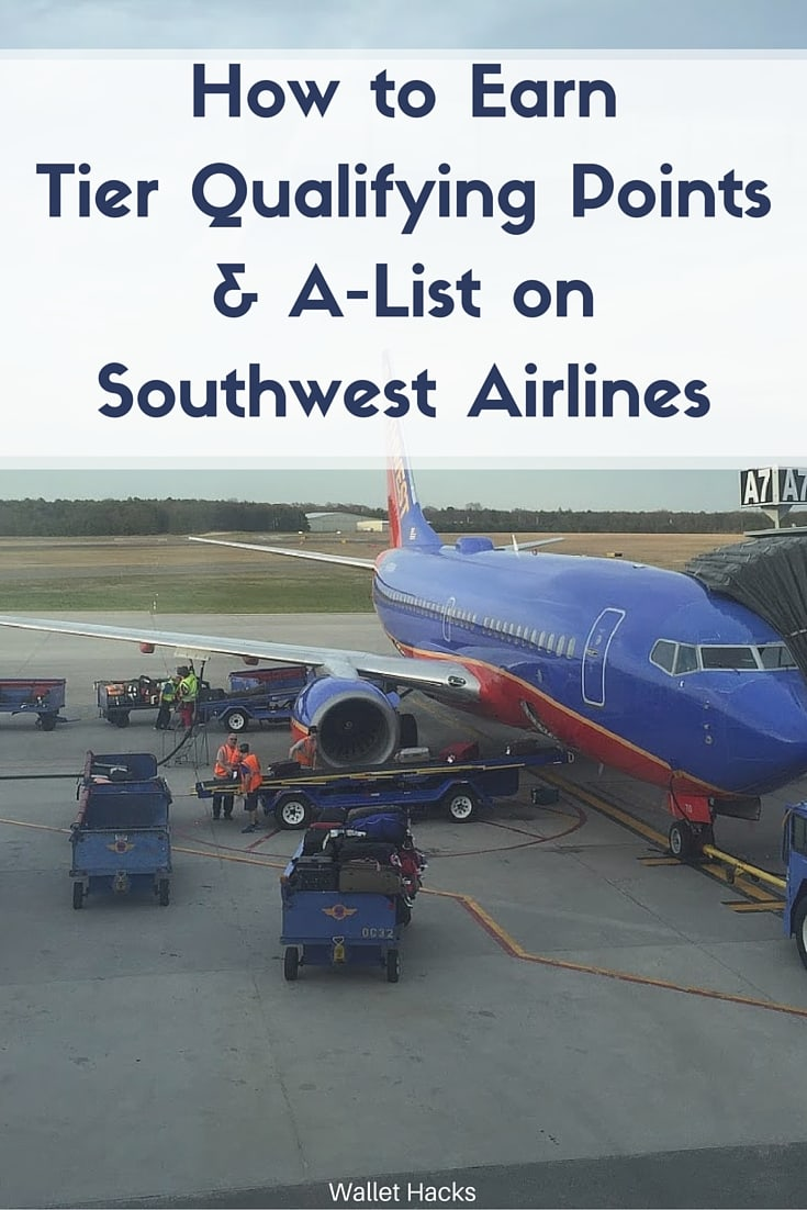 How to earn tier qualifying points for a list on southwest how to earn tier qualifying points for a list on southwest airlines wallet hacks magicingreecefo Image collections