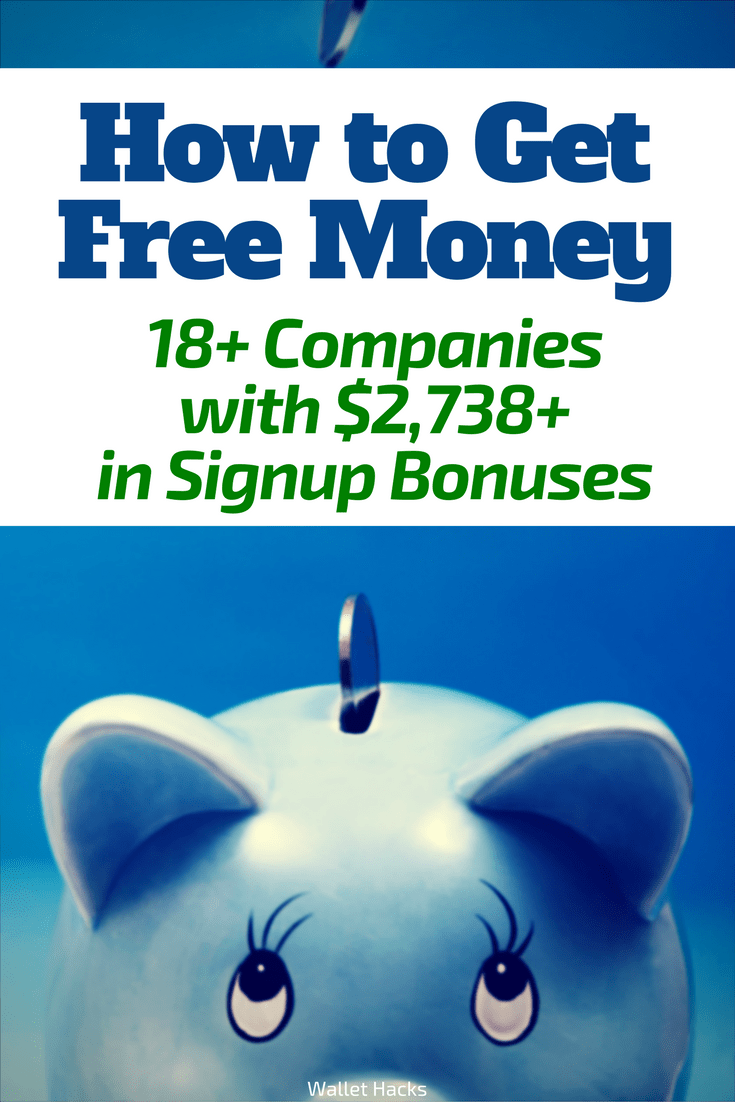 Get Free Money! These 18+ Companies Give $2,743