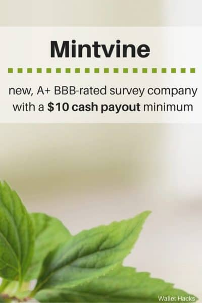Check out this new survey company with an A+ rating from the Better Business Bureau, $10 payout minimums, and quick surveys that will pay you even if you don't qualify!