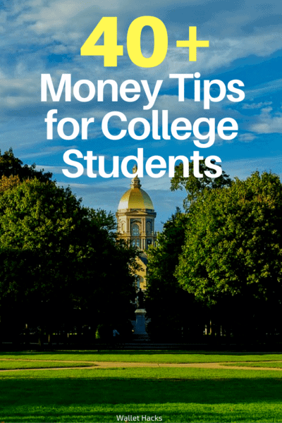 See the 40+ money tips I wish I knew when I was in college. From being smart with credit to investing with confidence, you won't want to miss these!