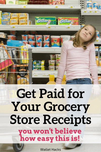 Everyone goes grocery store shopping, but did you know you can turn those receipts into money? It's possible AND it's very easy.