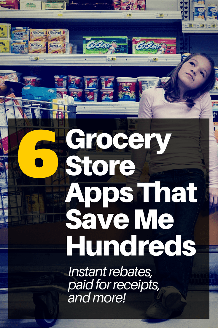 6 Apps that Pay for Grocery Store Receipts