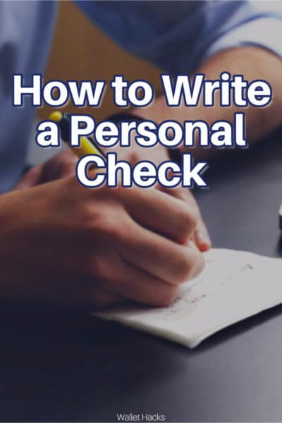 Personal checks aren't hard to write but there are a lot of fields and it can look confusing. Learn how to fill it out so you don't have any problems later.