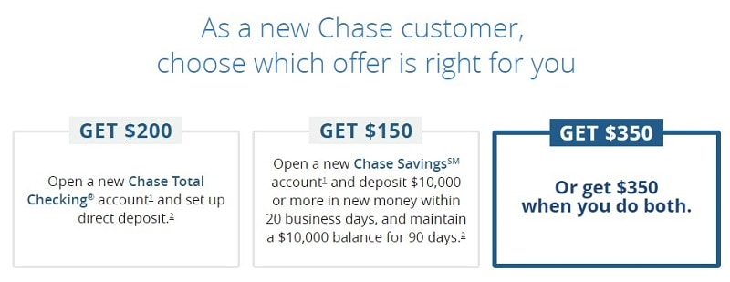 Admirable Chase Bank Promotions Up To 350 For New Checking Savings Accounts Wiring Cloud Peadfoxcilixyz
