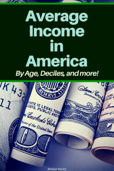 It doesn't always make sense to compare yourself with the rest of the country but it can be helpful to know where you stand. You may be surprised at the average salary income in America because I know I was! We play with Social Security Administration and U.S. Census data to give you the answer.
