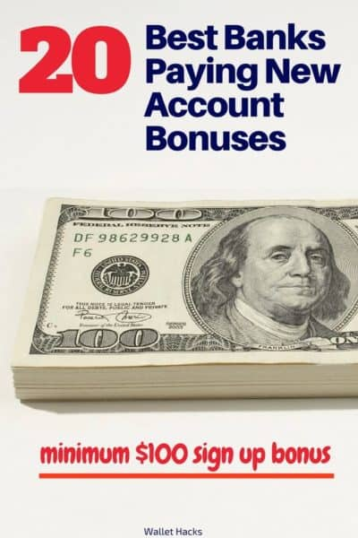 Banks are paying hundreds of dollars in new account sign up bonuses to people just like you. See what the best offers are, which banks have them, and what you need to do to get the free money.
