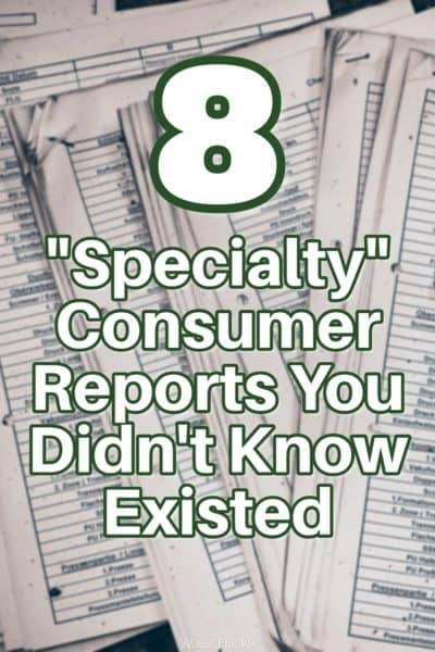 Did you know there are dozens of companies collecting your personal information? Specialty consumer reports collect everything from prescription drug purchases to driving violations. Find out how to request a copy of every one to see what they're collecting.