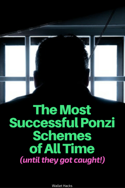 People have known about Ponzi schemes forever yet people still fall for them. The allure of high returns and no risk is too good to pass... but we should. If it's too good to be true, it is! Read about the most successful fraudsters in history.