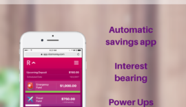 Rize Money is an investment-based savings account that gives you automated savings, interest, Power Ups, and other cool features missing from microsavings apps.