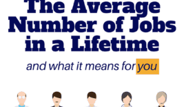 How many jobs have you had so far? 5? 10? 30? You may be surprised at what the average number of jobs is for a person - because job hopping might be more common than you think!