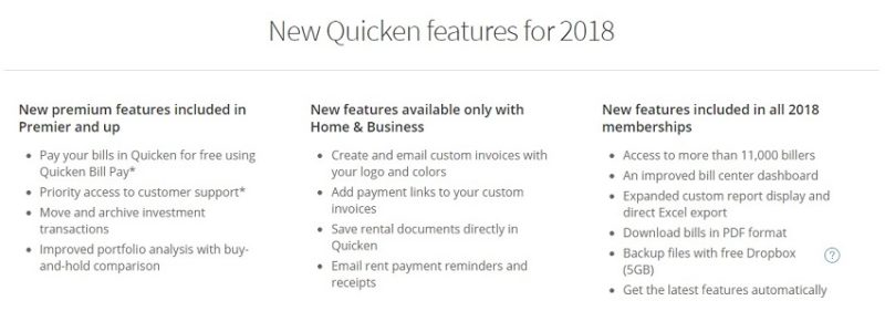 Quicken Review - Quicken home and business invoices