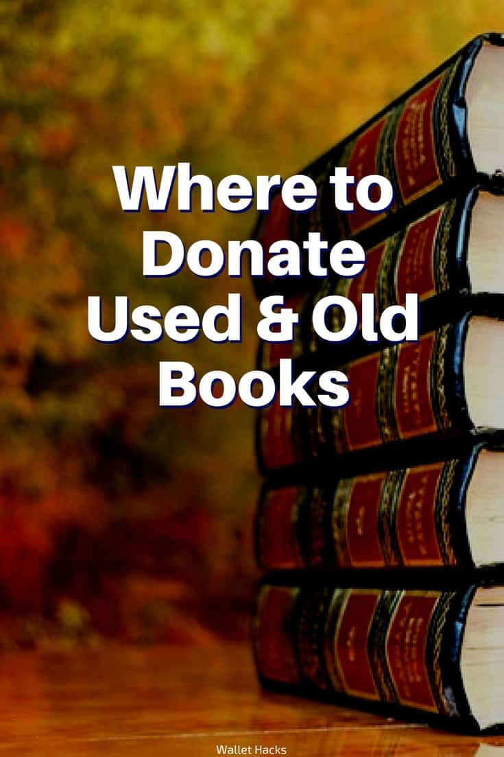 12 Clever Places to Donate Your Used Old Books