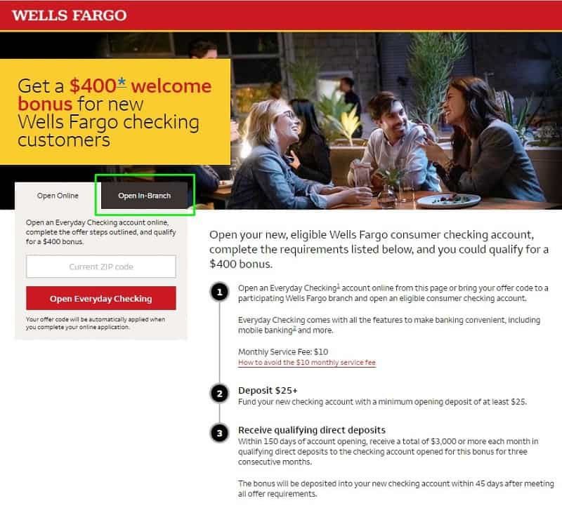 wells fargo login in for checking account online banking sign in