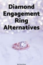 Want to get a engagement ring but don't want or even like diamonds? Here are some alternatives to the