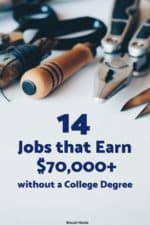 Not all high paying jobs require a college degree. We reviewed the Bureau of Labor Statistics website to find jobs that pay more than $70,000 and do not require a college degree!
