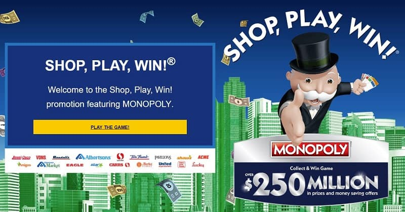 image regarding Albertsons Monopoly Game Board Printable referred to as How in the direction of Get the 2019 Safeway Monopoly Match (Keep, Participate in, Acquire!)