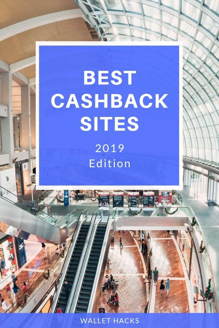 Best Cashback Rebate Sites for 2019
