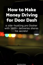 A pro Dasher (on the side) with 5600+ deliveries shares how he makes $20 / hour delivering food on DoorDash!