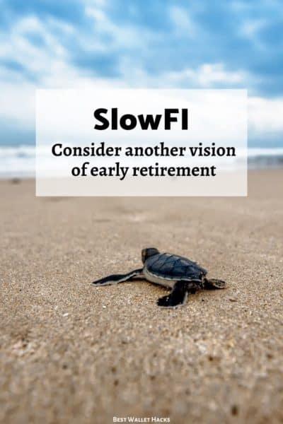 The FIRE Movement has many messages and today I want to share a guest post about one version that needs more attention - it's called SlowFI.