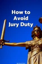 If you want to get out of jury duty, we can share some strategies for avoiding it.