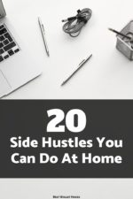 Are you looking to earn a little extra cash from home? Here are some side hustles you can start from your very own home!