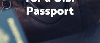You need to apply for a passport before you actually need it because it takes awhile to arrive. Here's how to get yours!