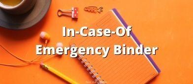 In-Case-of Emergency Binde