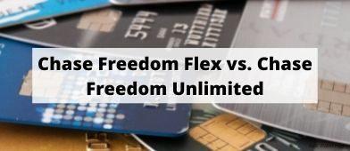 chase freedom flex vs chase freedom unlimited